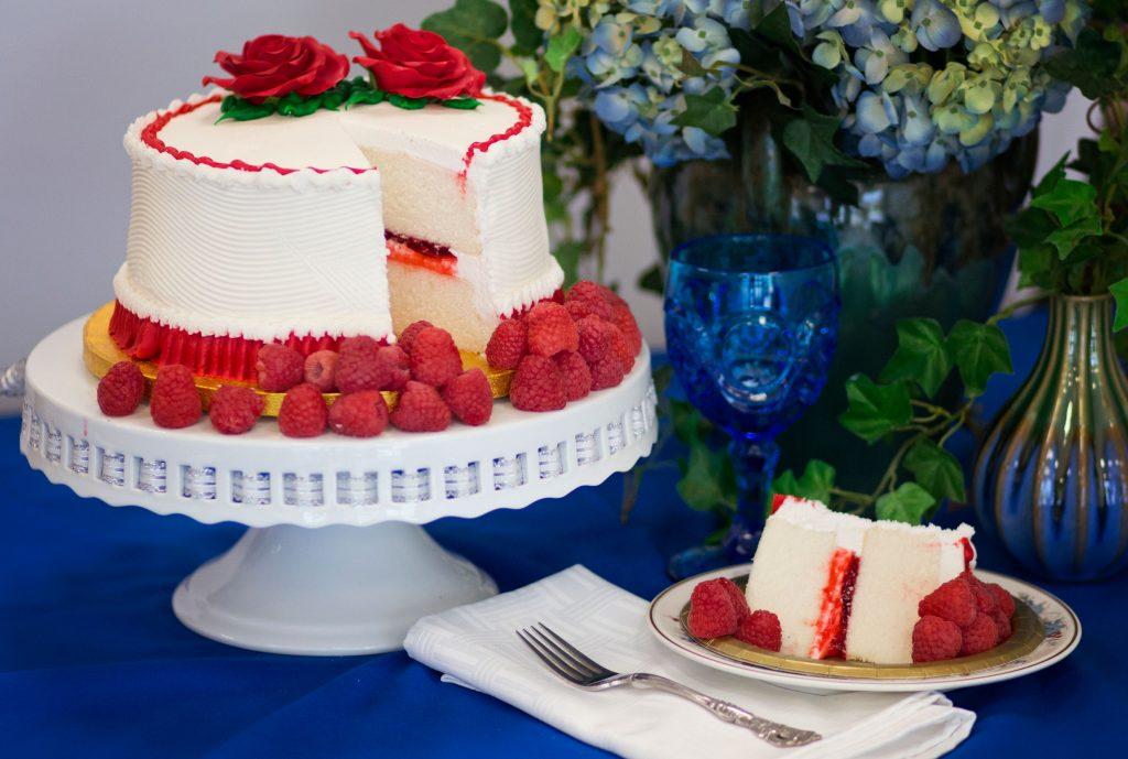 bonnie belles raspberry cake